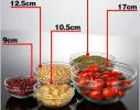 Набор кухонный контейнеры - миски стекляные с крышкой для продуктов фото 1