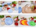 Набор кухонный контейнеры - миски стекляные с крышкой для продуктов фото 2