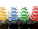 Набор кухонный контейнеры - миски стекляные с крышкой для продуктов фото 6