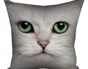 Подушка Кот Снежок фото