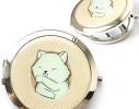 Зеркальце Бирюзовый котик фото