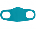 Трехслойная защитная маска многоразовая Бирюзовый фото 2