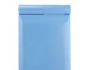 Карманное зеркало складное с LED подсветкой голубое фото 1