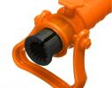 Бур для пляжного зонта 39 см. D 2.5 см. оранжевый фото 2