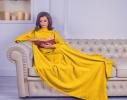 Плед с рукавами двухслойный флис Premium Жёлтый фото 1