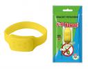 Силиконовый браслет от комаров MINI желтый фото 1