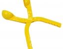 Снежколеп желтый - Снежка в форме мяча фото 1