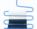 Вешалка S-формы, 5 уровней Голубой фото 3