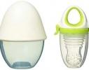Ниблер силиконовый для кормления малыша с футляром фото 1
