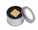 Магнитная игрушка головоломка Неокуб 216 кубов. Золото фото 2
