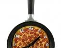 Часы настенные Сковорода пицца фото 1