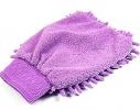Микрофибровая варежка для уборки фото 1