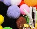 Набор для детского творчества Пушистые игрушки из проволочек и помпончиков фото 3, купить, цена, отзывы