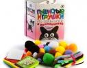 Набор для детского творчества Пушистые игрушки из проволочек и помпончиков фото 1, купить, цена, отзывы