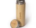 Термос металлический Lignum с бамбуковым покрытием 500 мл фото 1
