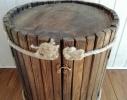 Мини-бар из натурального дерева фото 2