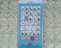 Интерактивный говорящий телефон - азбука украинского алфавита Красный фото 2