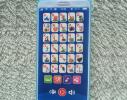 Интерактивный говорящий телефон - азбука русского алфавита Голубой фото 2