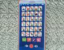 Интерактивный говорящий телефон - азбука русского алфавита Красный фото 2