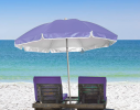 Пляжный зонт с наклоном 2.0 Umbrella Anti-UV сиреневый фото 2