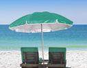 Пляжный зонт с наклоном 2.0 Umbrella Anti-UV бирюзовый фото 2