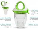 Ниблер силиконовый для кормления малыша с футляром фото 2