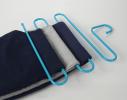 Вешалка S-формы, 5 уровней Голубой фото 4