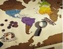 Scratch map настенная карта мира на русском языке с гербом Украины фото 1