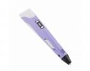 3D ручка c LCD дисплеем 3D Pen-2 Фиолетовая фото 1