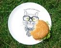 """Тарелка с котом """"Не делайте из еды культа! фото 2"""