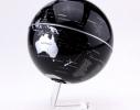 Глобус вращающийся на прозрачной подставке фото 1