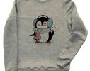 Свитшот Пингвинчик с шарфом фото 1