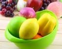 Миска 2-в-1 для фруктов, овощей, риса фото 1