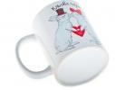 "Чашка с кроликами ""Кльова пара"" фото 1"