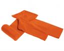 Плед с рукавами двухслойный флис Premium Оранжевый фото 3