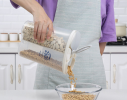 Контейнер пищевой для сыпучих продуктов 2отд 2.5л фото 3