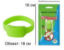 Силиконовый браслет от комаров MINI салатовый фото 3