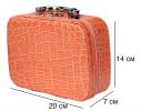 Органайзер - кейс для косметики Оранжевый фото 3