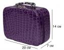 Органайзер - кейс для косметики Фиолетовый фото 3