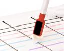 Набор маркеров красный/фиолетовый фото 3