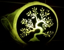 Соляная лампа Дерево фото 1