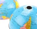Глобус вращающийся Вокруг света, 15 см фото 1