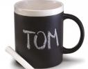 Чашка керамическая матовая с мелком Терра 340 мл фото 5
