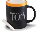 Чашка керамическая матовая с мелком Терра 340 мл фото 2
