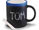 Чашка керамическая матовая с мелком Терра 340 мл фото 1