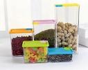 Набор контейнеров для сыпучих продуктов 6 шт. фото