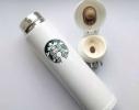 Стильный термос Starbucks White фото 2