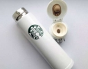 Стильный термос Starbucks White фото 2