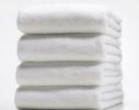 Полотенце махровое белое 140х70 см Varol LOTUS фото