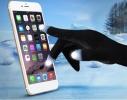 Сенсорные перчатки Черные фото 2